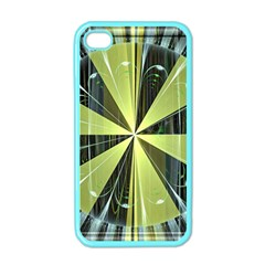 Fractal Ball Apple Iphone 4 Case (color) by Simbadda