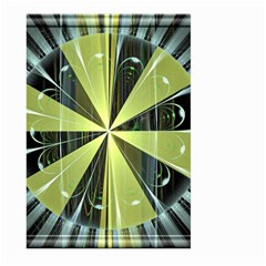 Fractal Ball Large Garden Flag (two Sides) by Simbadda