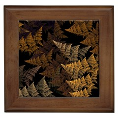 Fractal Fern Framed Tiles by Simbadda