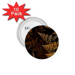 Fractal Fern 1 75  Buttons (10 Pack) by Simbadda