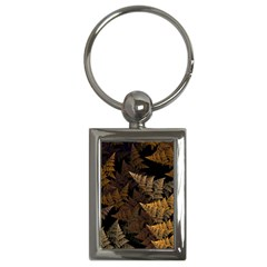 Fractal Fern Key Chains (rectangle)  by Simbadda