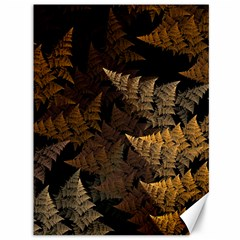 Fractal Fern Canvas 36  X 48   by Simbadda