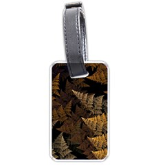 Fractal Fern Luggage Tags (two Sides) by Simbadda
