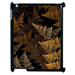 Fractal Fern Apple Ipad 2 Case (black) by Simbadda