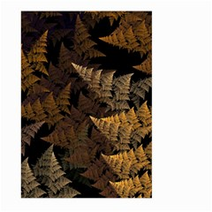 Fractal Fern Large Garden Flag (two Sides) by Simbadda