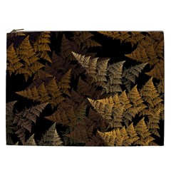 Fractal Fern Cosmetic Bag (xxl)  by Simbadda