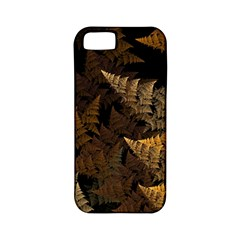 Fractal Fern Apple Iphone 5 Classic Hardshell Case (pc+silicone) by Simbadda