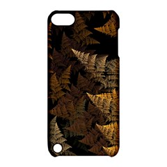 Fractal Fern Apple Ipod Touch 5 Hardshell Case With Stand by Simbadda