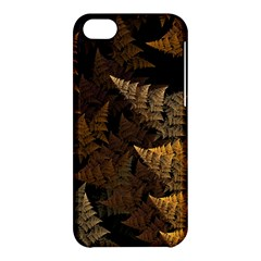 Fractal Fern Apple Iphone 5c Hardshell Case by Simbadda