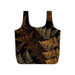 Fractal Fern Full Print Recycle Bags (s)