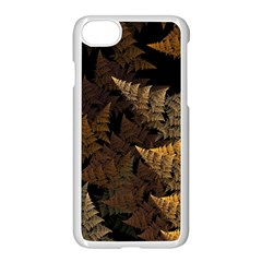 Fractal Fern Apple Iphone 7 Seamless Case (white) by Simbadda