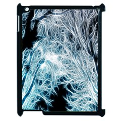 Fractal Forest Apple Ipad 2 Case (black) by Simbadda