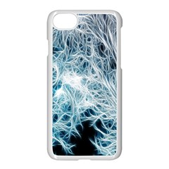 Fractal Forest Apple Iphone 7 Seamless Case (white) by Simbadda