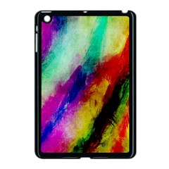 Abstract Colorful Paint Splats Apple Ipad Mini Case (black) by Simbadda