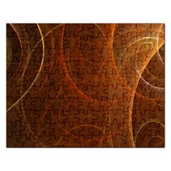 Fractal Color Lines Rectangular Jigsaw Puzzl by Simbadda