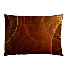 Fractal Color Lines Pillow Case by Simbadda
