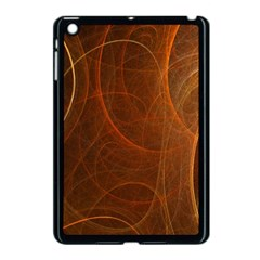 Fractal Color Lines Apple Ipad Mini Case (black) by Simbadda