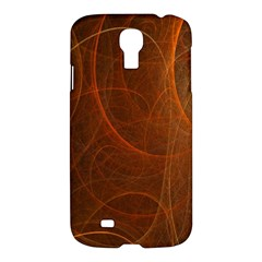 Fractal Color Lines Samsung Galaxy S4 I9500/i9505 Hardshell Case by Simbadda