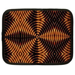 Fractal Patterns Netbook Case (large) by Simbadda