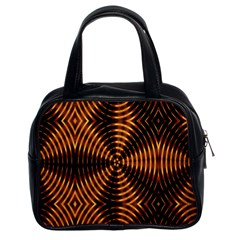 Fractal Patterns Classic Handbags (2 Sides) by Simbadda