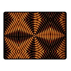 Fractal Patterns Double Sided Fleece Blanket (small)