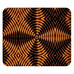 Fractal Patterns Double Sided Flano Blanket (small)  by Simbadda