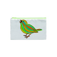 Bird Cosmetic Bag (xs) by Valentinaart