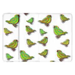 Birds Samsung Galaxy Tab 8 9  P7300 Flip Case by Valentinaart