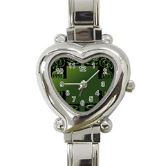 Celtic Corners Heart Italian Charm Watch by Simbadda