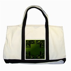 Celtic Corners Two Tone Tote Bag by Simbadda