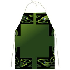 Celtic Corners Full Print Aprons by Simbadda