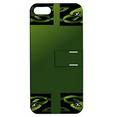 Celtic Corners Apple Iphone 5 Hardshell Case With Stand by Simbadda