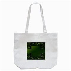 Celtic Corners Tote Bag (white) by Simbadda
