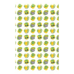 St Patrick s Day Background Symbols Shower Curtain 48  X 72  (small)  by Simbadda