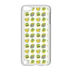 St Patrick s Day Background Symbols Apple Ipod Touch 5 Case (white) by Simbadda