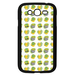 St Patrick s Day Background Symbols Samsung Galaxy Grand Duos I9082 Case (black)