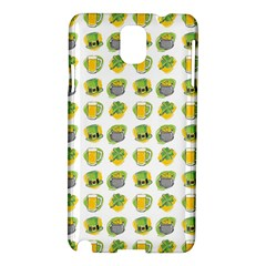 St Patrick s Day Background Symbols Samsung Galaxy Note 3 N9005 Hardshell Case by Simbadda