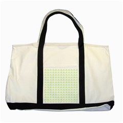 Shamrock Irish St Patrick S Day Two Tone Tote Bag by Simbadda