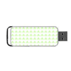 Shamrock Irish St Patrick S Day Portable Usb Flash (two Sides) by Simbadda