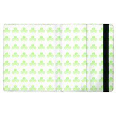 Shamrock Irish St Patrick S Day Apple Ipad 3/4 Flip Case by Simbadda