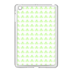 Shamrock Irish St Patrick S Day Apple Ipad Mini Case (white) by Simbadda