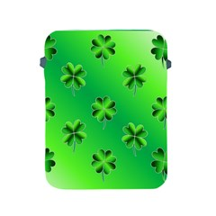 Shamrock Green Pattern Design Apple Ipad 2/3/4 Protective Soft Cases