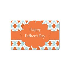 Happy Father Day  Magnet (name Card) by Simbadda