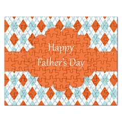 Happy Father Day  Rectangular Jigsaw Puzzl