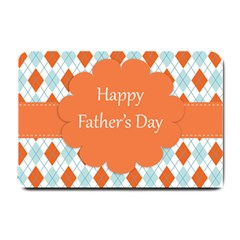 Happy Father Day  Small Doormat  by Simbadda
