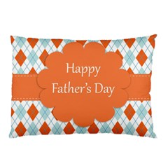 Happy Father Day  Pillow Case by Simbadda