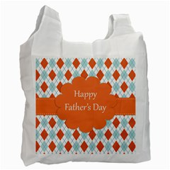 Happy Father Day  Recycle Bag (two Side)  by Simbadda