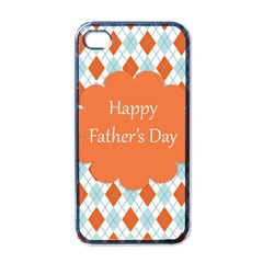 Happy Father Day  Apple Iphone 4 Case (black) by Simbadda
