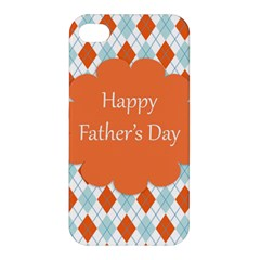 Happy Father Day  Apple Iphone 4/4s Premium Hardshell Case by Simbadda