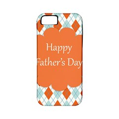 Happy Father Day  Apple Iphone 5 Classic Hardshell Case (pc+silicone) by Simbadda